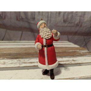 Vintage Warner Bros. Santa Holding Bell Red Coat C